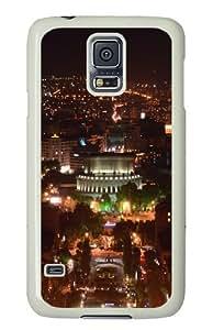 Samsung Galaxy S5 Case Cover - Armenia Yerevan At Night Hard Case Cover For Samsung Galaxy S5 - PC White