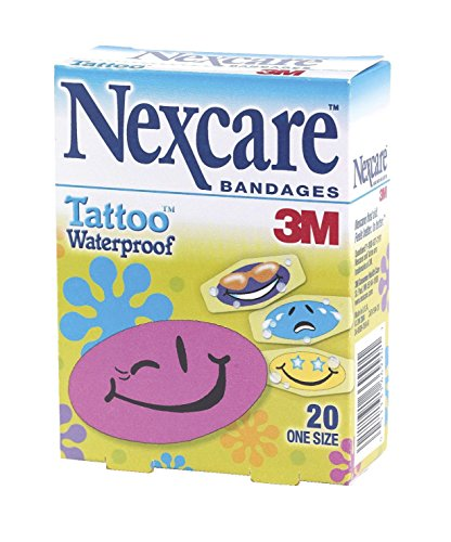 Nexcare Waterproof Character Bandages, Pack of 20