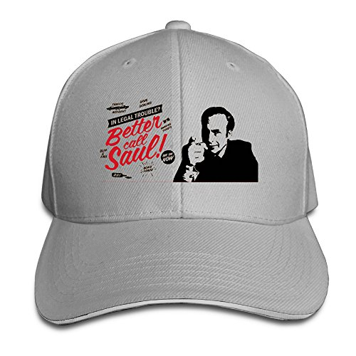 Ash Fashion Sandwich Sideline Cap Better Call Saul For Man