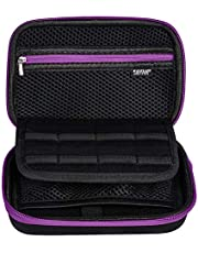 Soyan Carrying Case for Nintendo New 3DS XL and 2DS XL, with 16 SD Card Holders, Fits Wall Charger