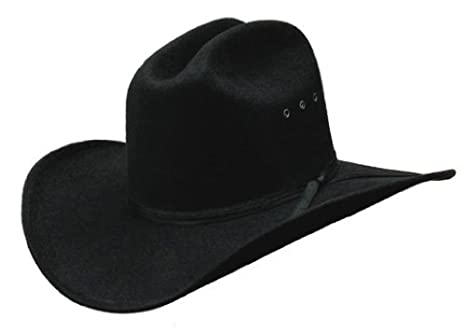 Amazon.com   Black OSFM One Size Fits Most Kids Faux Felt Cowboy ... 66c90739005