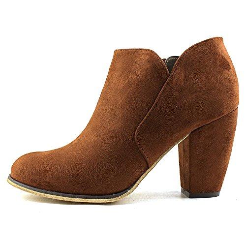 Victie Ankle Cognac Michael Toe Women Antonio Round Boot Synthetic p11vwOqgC