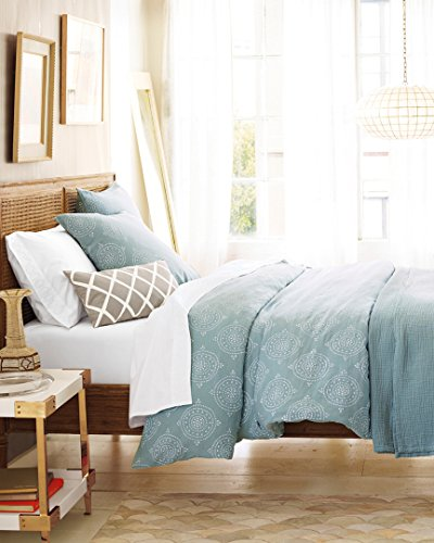 Serena & Lily Lune Linen Twin Duvet Cover, Twin