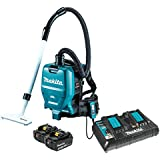 Makita XCV05PT 18V X2 LXT Lithium-Ion (36V) Brushless Cordless 1/2 gallon HEPA Filter Backpack Dry Vacuum Kit (5.0Ah)