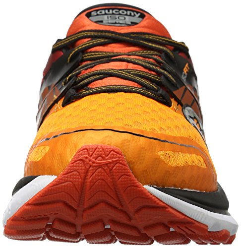 Saucony Men's Triumph Iso 2 Running Shoe, Blue/Grey, One Size Red/Org/Black