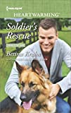 Soldier's Rescue: A Clean Romance (Single Father Book 199)