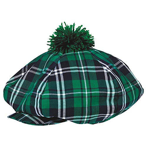 amscan St. Patrick's Day Plaid Fabric Gatsby Hat | Party Accessory]()