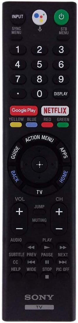 New Original Sony RMF-TX310U TV Voice Remote Control for XBR-49X900F XBR-55X850F XBR-65X850F 4K Ultra Smart TV Renewed