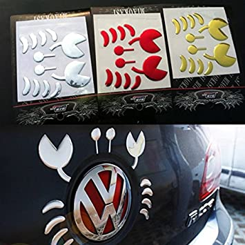 Car stickers pvc flexible plastic 3d funny crab car decoration sticker