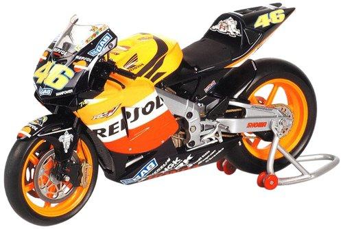 1/12 ホンダ RC211V V.ロッシ チームレプソルホンダ ワールドチャンピオン モトGP2003 122037146