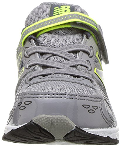 New Balance Boys' 680 V3 Running Shoe, Grey/Hi-Lite, 12 W US Little Kid Photo #4