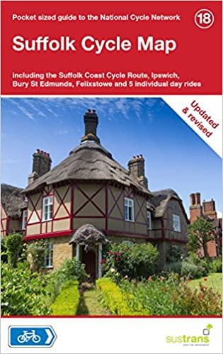 b6d652852 Suffolk Cycle Map  Including the Suffolk Coast Cycle Route
