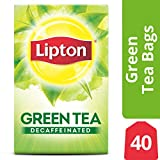 Lipton Green Tea Bags, Decaffeinated, 40 ct (pack of 6)