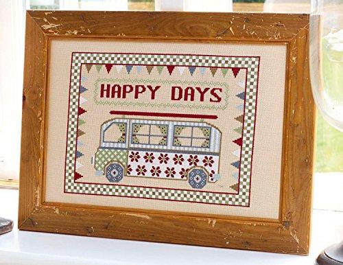 Historical Sampler Company Ltd Happy Days Cross-Stitch