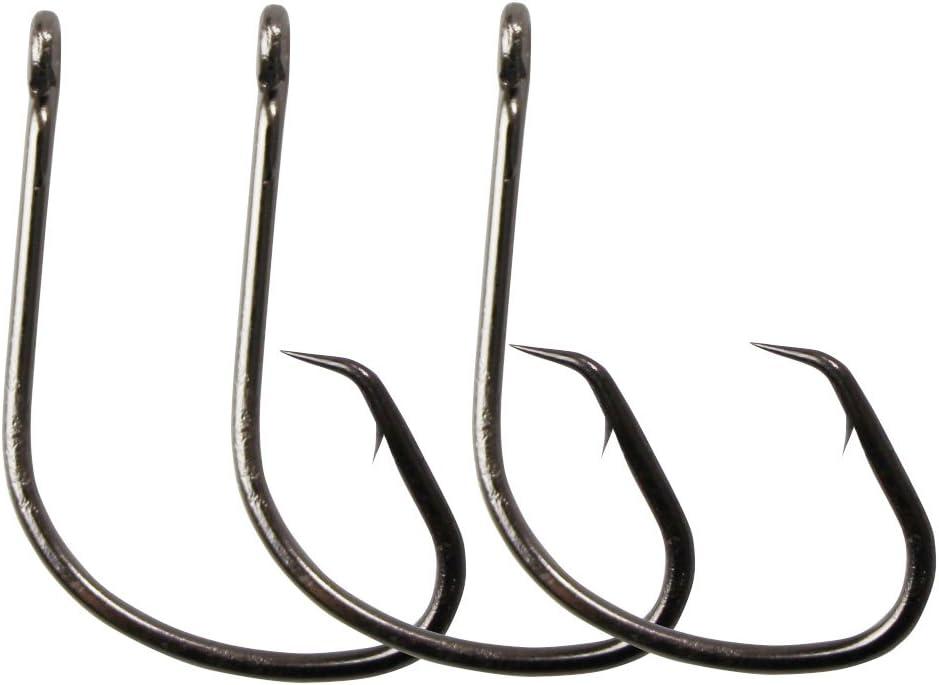 100Pcs//200Pcs Carbon Steel Fishing Hook Fishhooks Fishing Hooks with Hole Carp