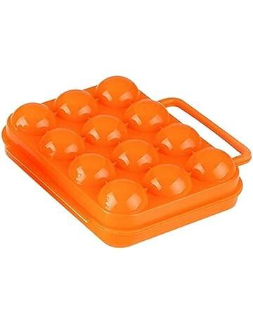 Outflower - Huevera creativa de plástico, accesorios para el hogar, utensilios de cocina,