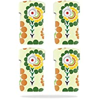 Skin For DJI Inspire 1 Drone Battery (4 pack) – Hippie Flowers | MightySkins Protective, Durable, and Unique Vinyl Decal wrap cover | Easy To Apply, Remove, and Change Styles | Made in the USA