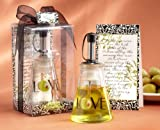 Olive You!' Glass LOVE Oil Bottle in Signature Tuscan Box - Total 24sets