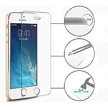 2.5D 9H Premium REAL Tempered Glass Screen Protector shield iphone SE 5 5s 5c . iphone5 verre trempé protecteur ecran HD clair