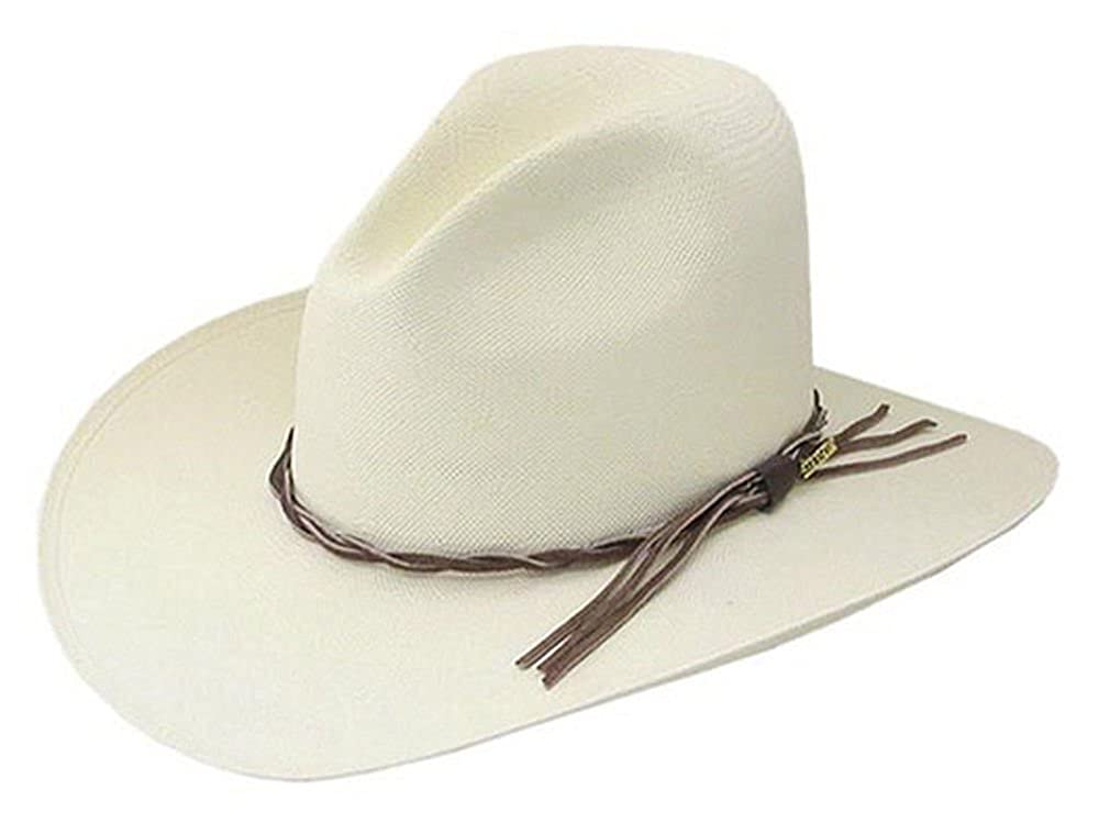 c2a670669d494 Stetson Gus Straw Cowboy hat at Amazon Men s Clothing store