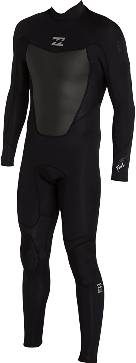 Billabong Men's Foil 3/2 Back Zip Flat Stitch Seam Full Wetsuit