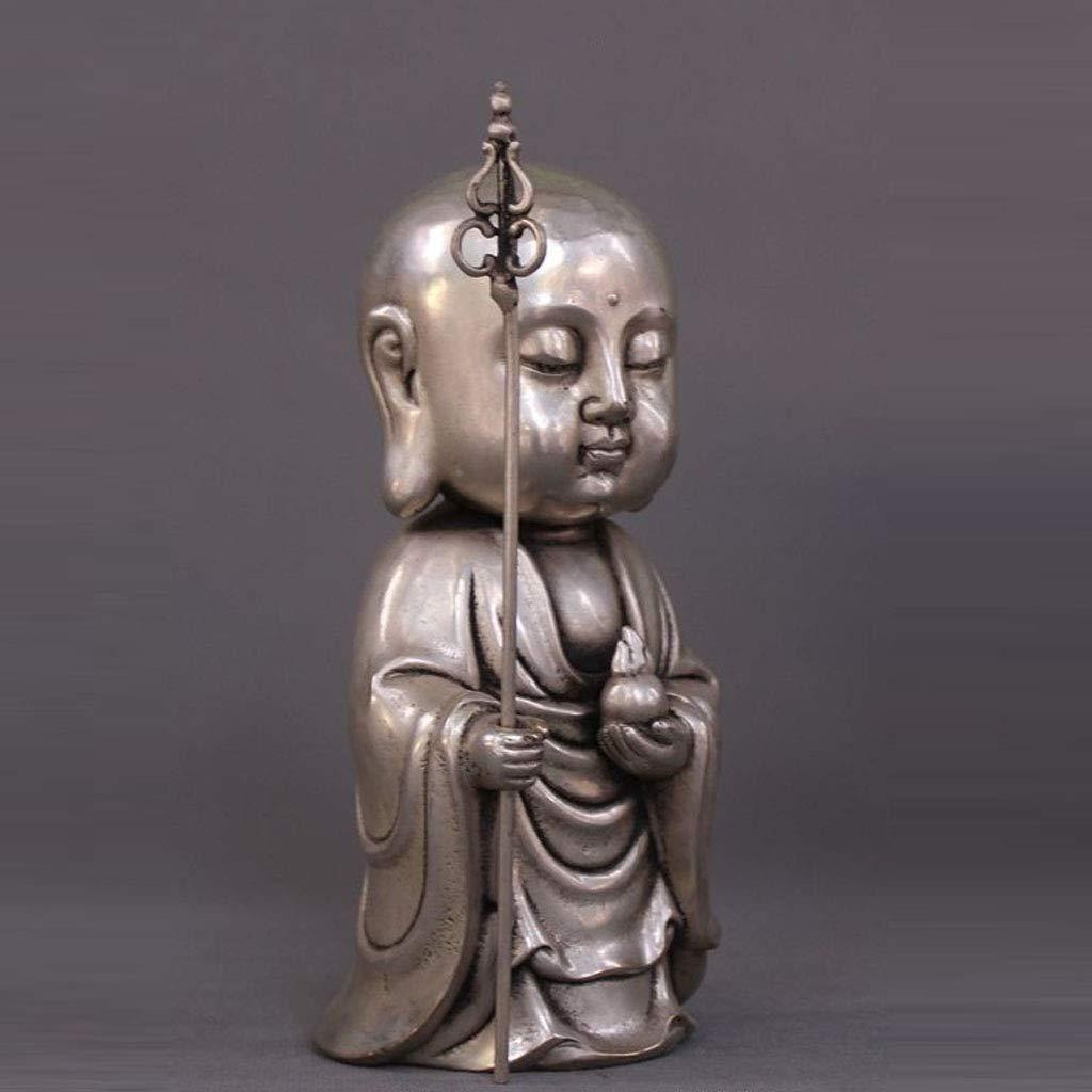 LXYFMS Tibet Tibetan Buddhism Temple Silver Dig Buddha Buddha Buddha Statue Crafts by LXYFMS (Image #3)