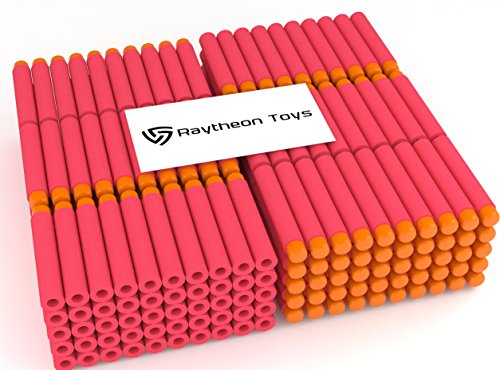 red-300-pieces-set-ultimate-nerf-foam-toy-darts-by-raytheon-toys-premium-refill-bullets-for-n-strike