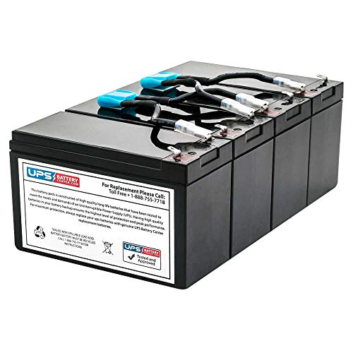 APC Smart UPS 1400 Rack Mount 3U SU1400RM3U Compatible Replacement Battery Pack by ()