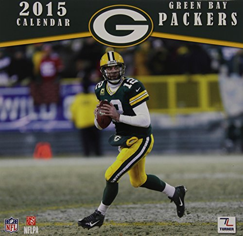 2015 Green Bay Packers Wall - Player Calendar Wall