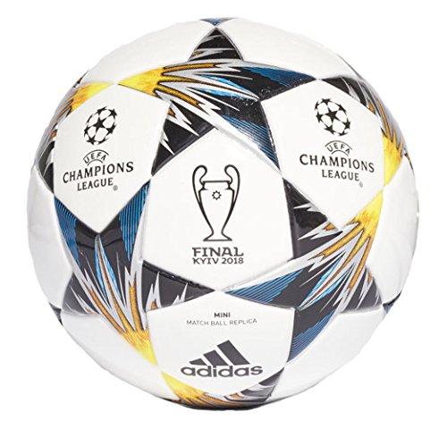 Adidas Performance Champions League Finale Capitano - Balón de fútbol, White/Yellow/Blue/Mini, Talla 1