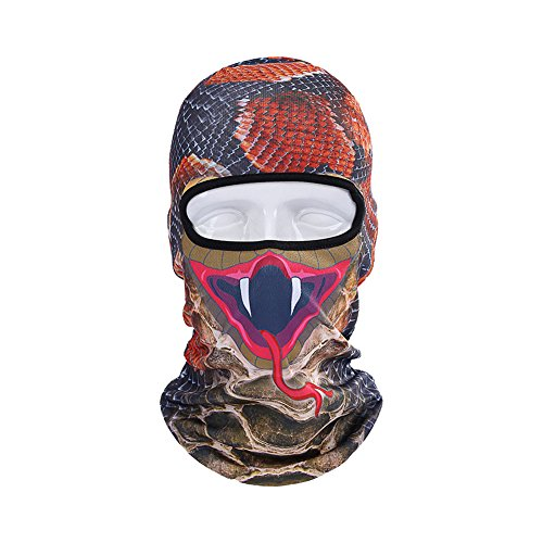 Bike Motorcycle Cycling Sports Outdoor Activities Riding Animal Print Masks
