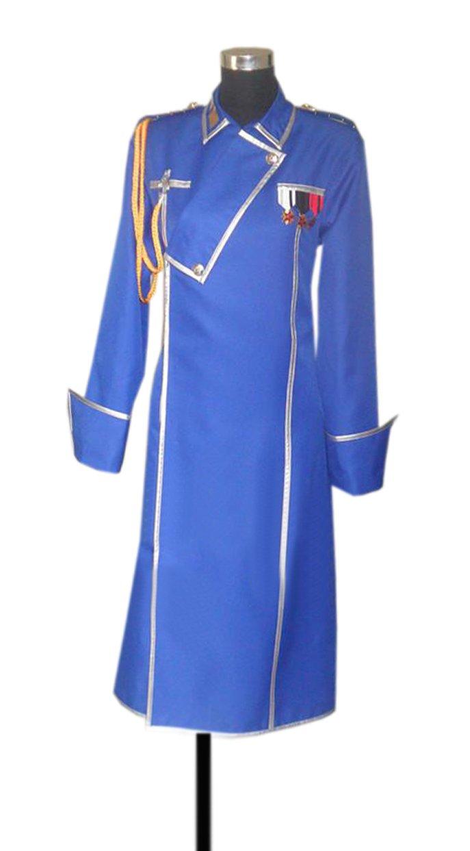 Dreamcosplay Fullmetal Alchemist Blue Coat Anime Cosplay