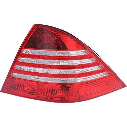 - Evan-Fischer EVA15672029836 Tail Light for Mercedes Benz S-Class 03-06 Lens and Housing (220) Chassis Right Side