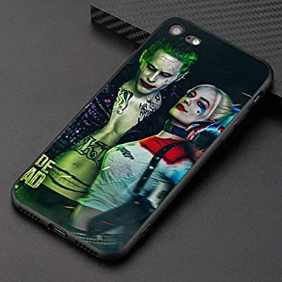 Phone Case Suicide Squad Joker Harley Quinn Silicone Phone