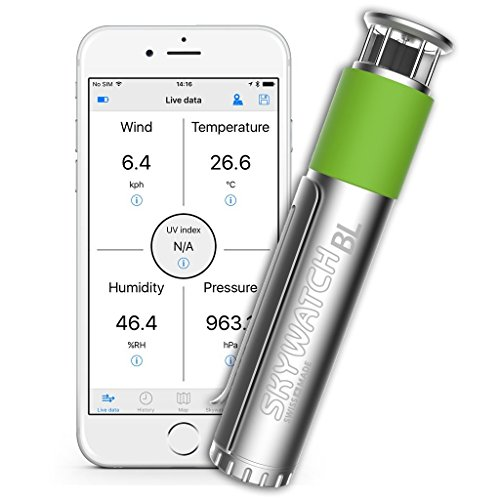 Skywatch BL400 Bluetooth Weather Station for Smartphone from Skywatch