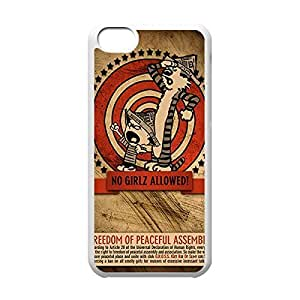 Classical Style Case with Calvin and Hobbes Lightweight babys Plastic Men Protective Back skin Cover for with iphone 6 plus -White031308