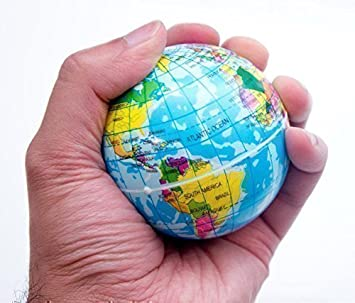 World map foam earth globe stress relief bouncy ball atlas kids toy world map foam earth globe stress relief bouncy ball atlas kids toy education gumiabroncs Choice Image