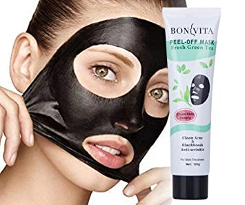BONVITA Fresh Green Tea Black Mask