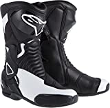 NEW ALPINESTARS STELLA SMX-6 PERFORMANCE RIDING WOMENS SPORT-FIT BOOTS, BLACK/WHITE, EUR-38/US-7