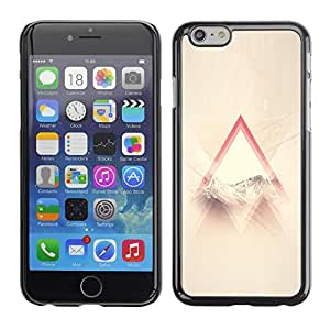 "Pulsar Snap-on Series Teléfono Carcasa Funda Case Caso para Apple Iphone 6 Plus / 6S Plus ( 5.5 ) , Dios Religiosa Nubes Triangle Sun Ray"""