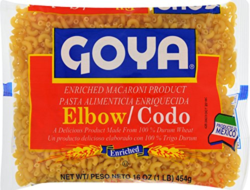 Goya Foods Elbows Pasta, 16 Ounce