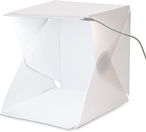 Amzdeal Caja de fotografía/ Caja de luz portátil 40 x 40 cm para ...