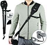 PROWITHLIN Professional Photography Set - Shoulder Strap with Safety Tether Mounting Plate for Camera SLR DSLR (Canon Nikon Sony Olympus Pentax,etc)
