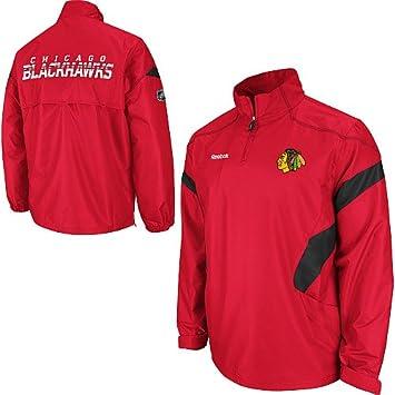 Reebok Chicago Blackhawks Center Ice NHL Jacke (S): Amazon