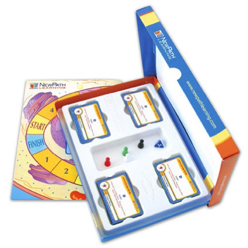 NewPath Learning Middle School Life Science Curriculum Mastery Game, Grade 5-9, Study-Group Pack