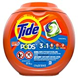 Tide PODS Liquid Laundry Detergent Pacs, Original, 57 count