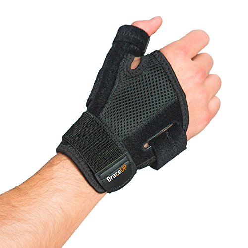 BraceUP® Thumb Spica Support Brace with Splints for Arthritis, Carpal Tunnel and Sprains