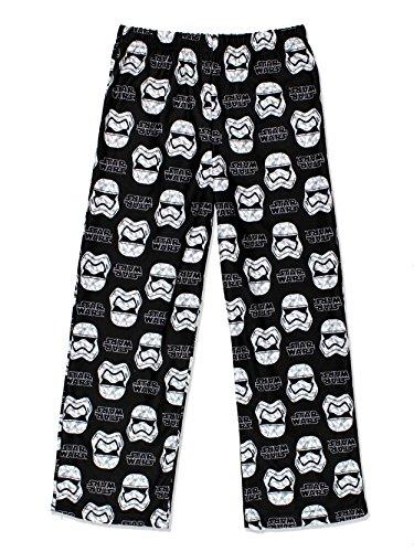 Star Wars Boys Flannel Pajama Pants (Medium, 8-10)
