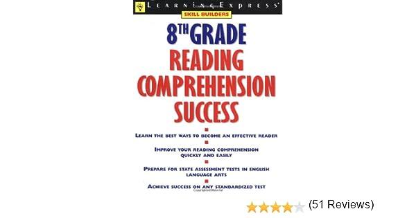 Amazon.com: 8th Grade Reading Comprehension Success (9781576853917 ...
