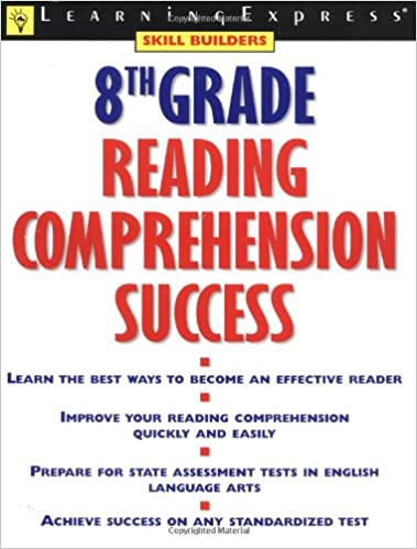 Amazon.com: 8th Grade Reading Comprehension Success (9781576853917 ...